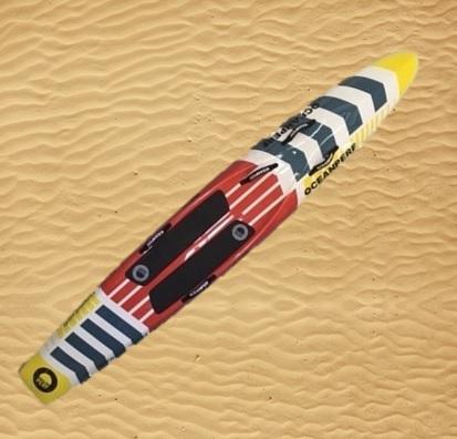 paddle board 65-75kg lifesaving