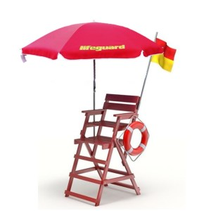 parasol lifeguard