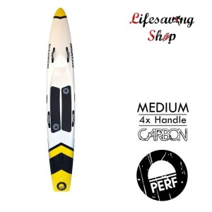 Paddle racing board lifesaving