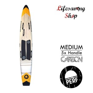 Paddle racing board lifesaving
