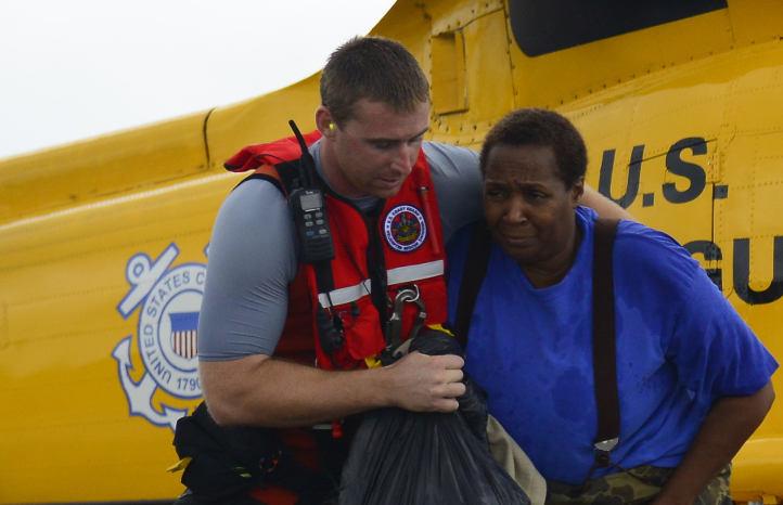 US Coast guard crews in Mobile Alabama
