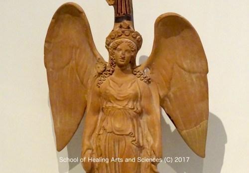 翼のある女神像 アテネ