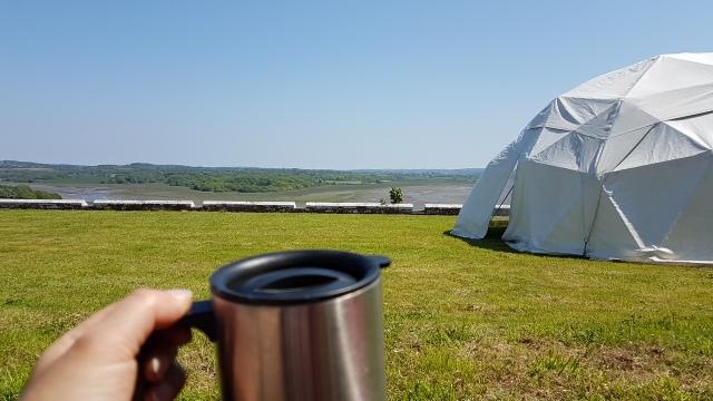 Coffe at The Big Retreat Wales