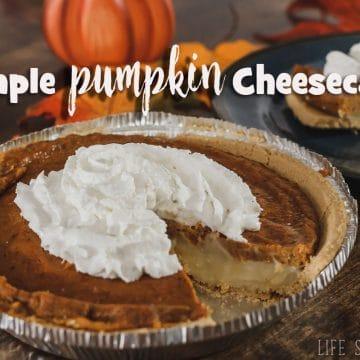 cheater pumpkin cheesecake recipe
