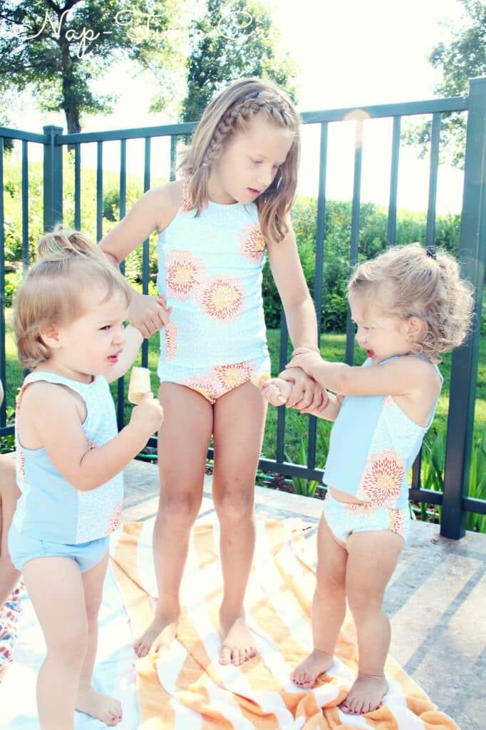 Swimsuit pattern for kids6