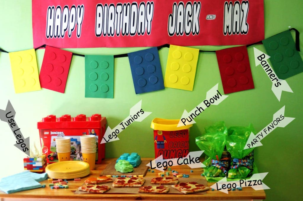plan a lego birthday party life sew