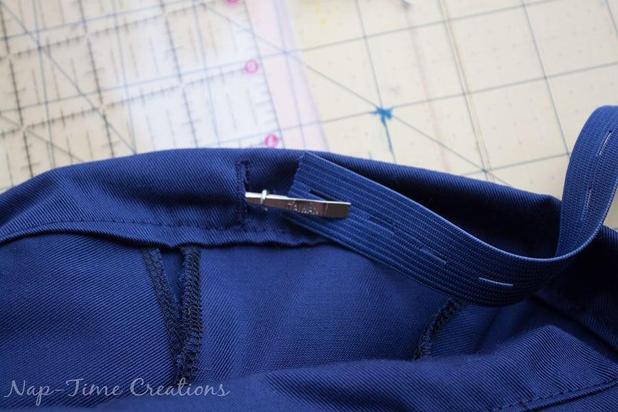 threading the elastic