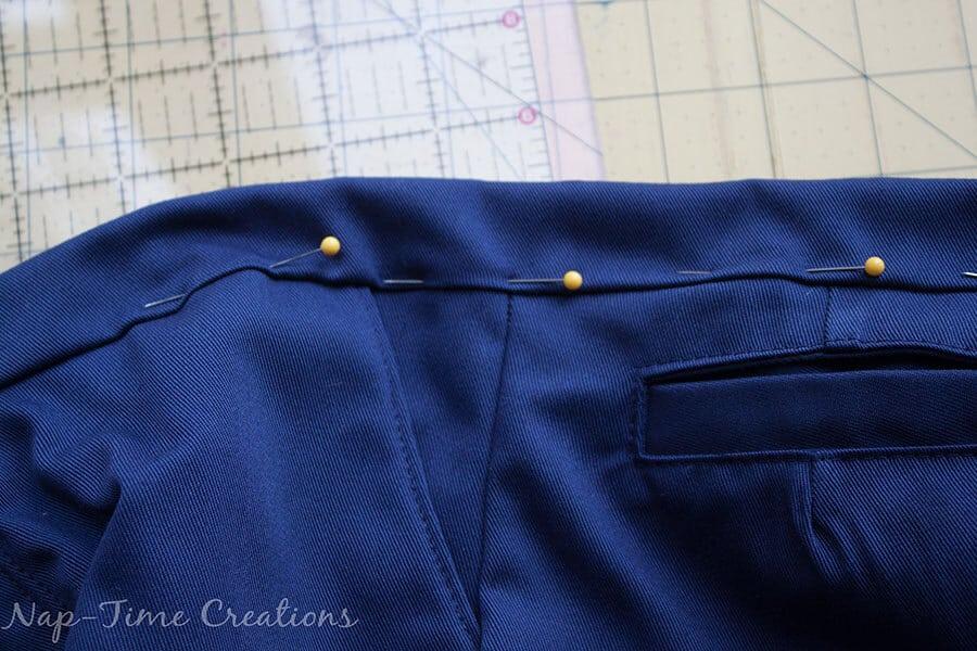 adjustable waistband tutorial 7