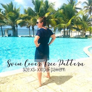 swimsuit cover up pattern free
