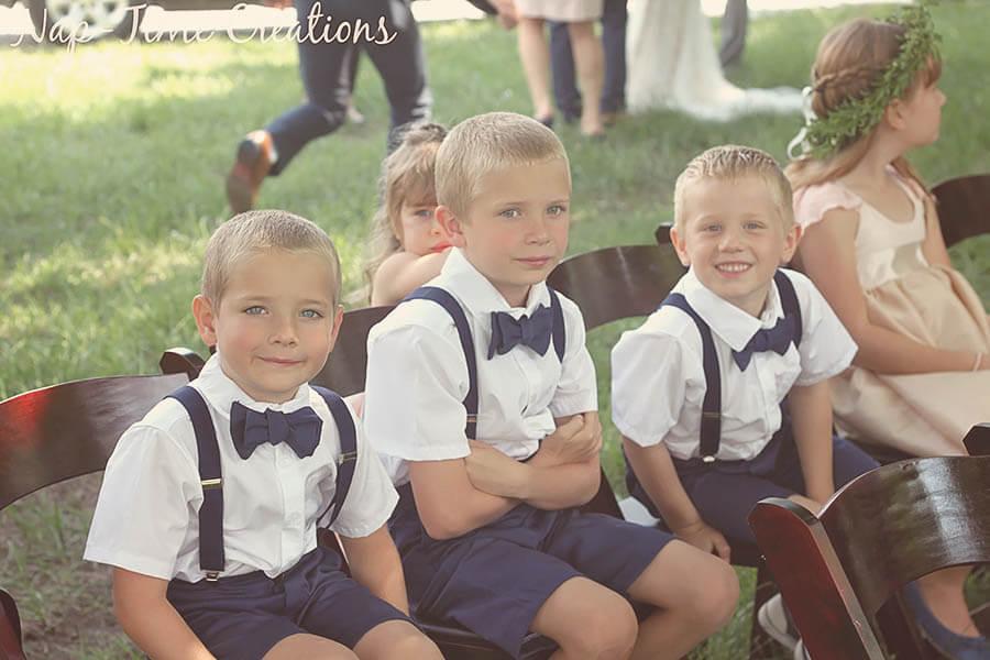 Children's wedding outfits handmade inspiration