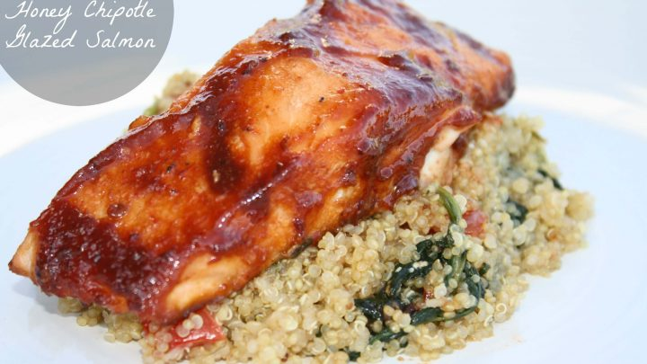 Honey Chipotle Glazed Salmon