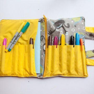School Supplies Tote Tutorial