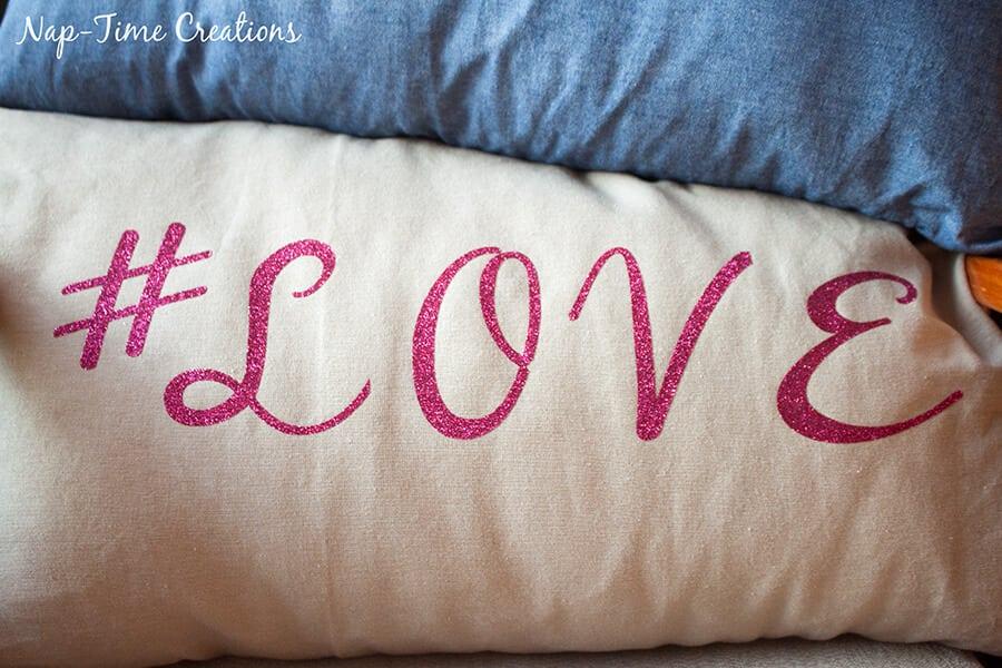 hashtag valentines pillows 2