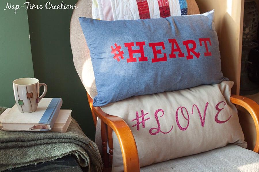 hashtag valentines pillows 5