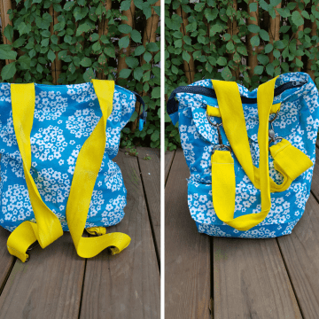 convertible purse backpack sewing pattern