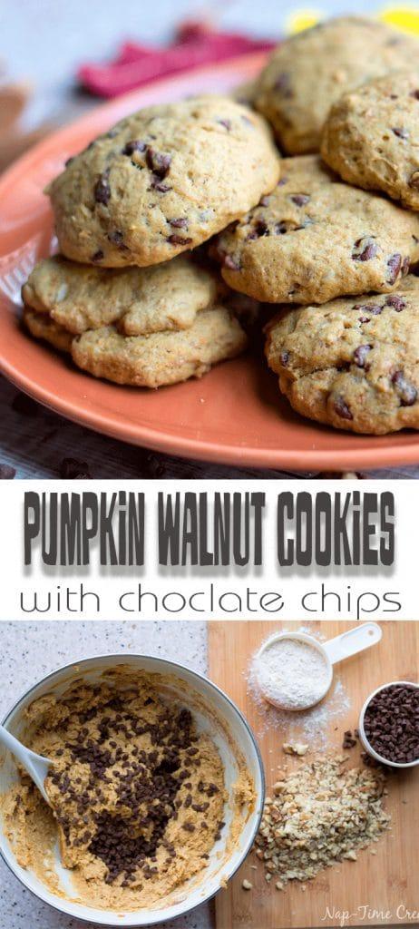 pumpkin walnut cookie recipe