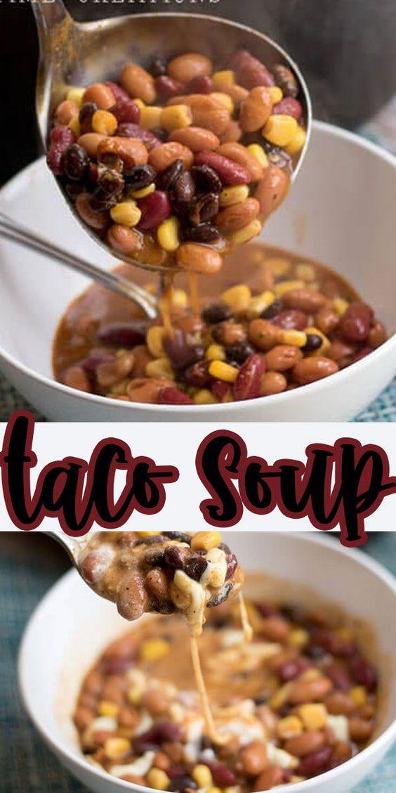 Taco Bean Soup Recipe