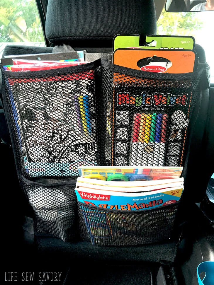 Seat Back Organizer for car