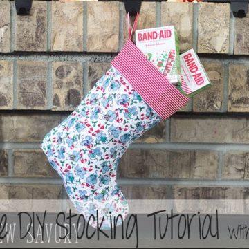 DIY stocking tutorial
