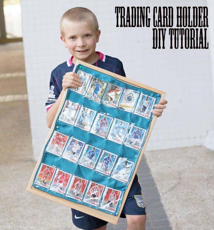 trading card holder promo phoot