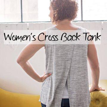 Womens tank top sewing pattern