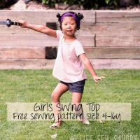 girls swing top promo