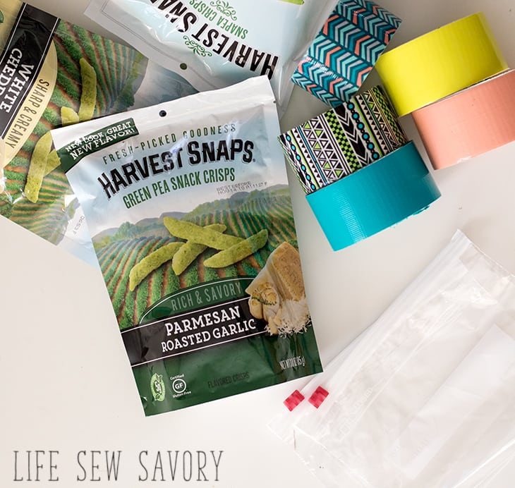 Make your own snack bags