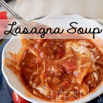 Lasagna Soup Instant Pot recipe