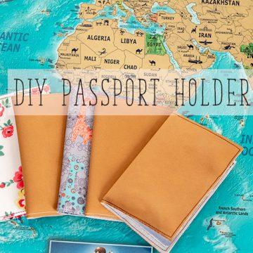 How to make a passport holder