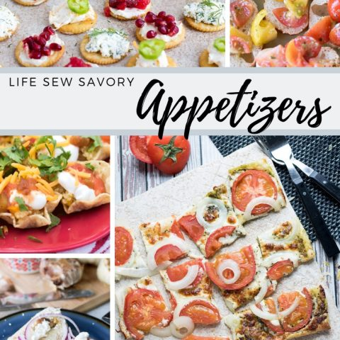 Appetizers from Life Sew Savory a complete collection