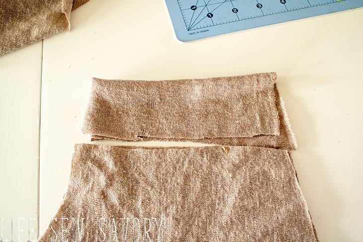 sew a sweater