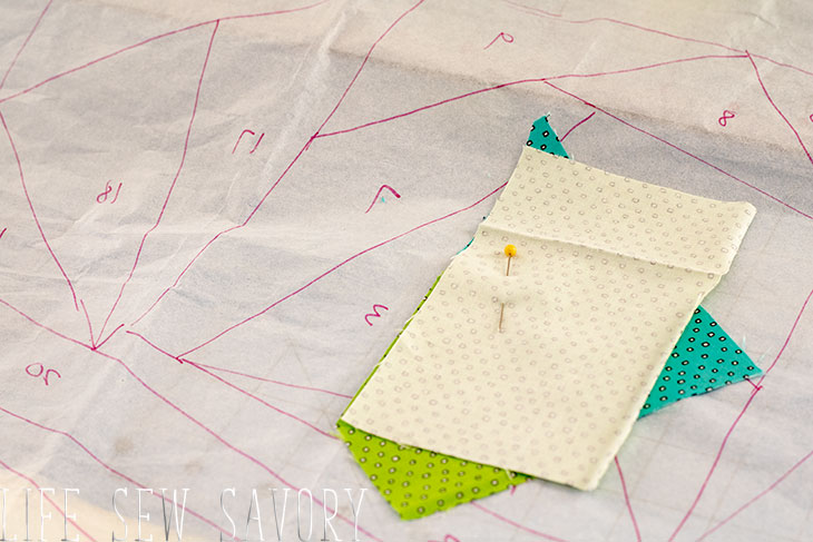 how to paper piece quilt
