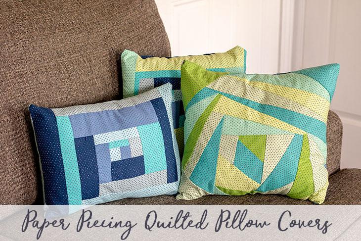 Paper Pieced Quilt Pattern - Throw Pillow social