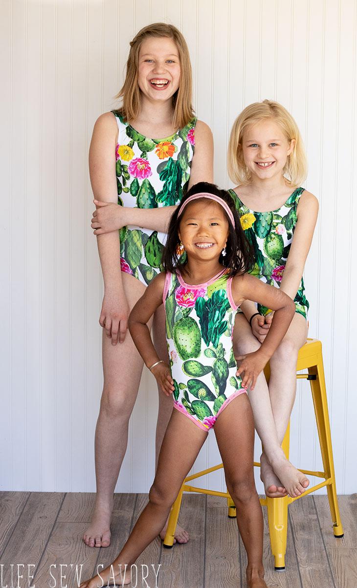 girls swim pattern release