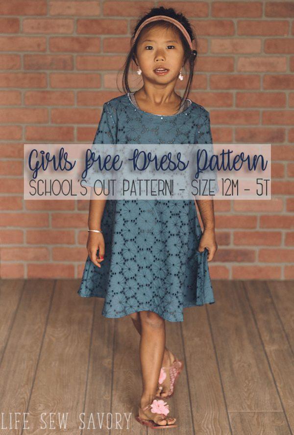 free dress pattern for girls