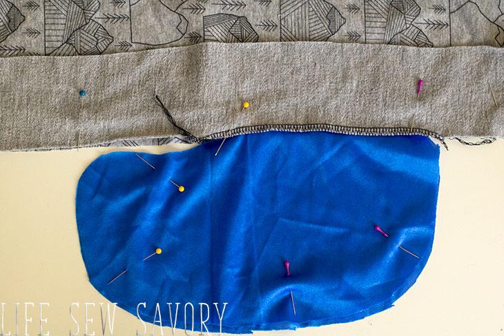 sewing a pocket