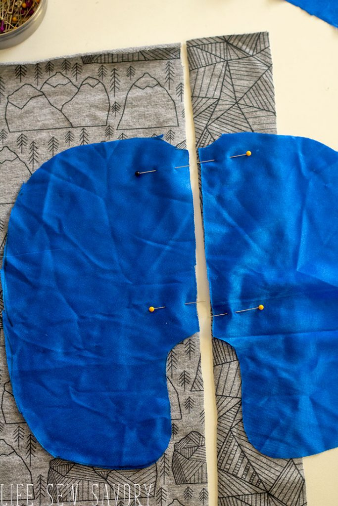 sew a pocket in a side seam
