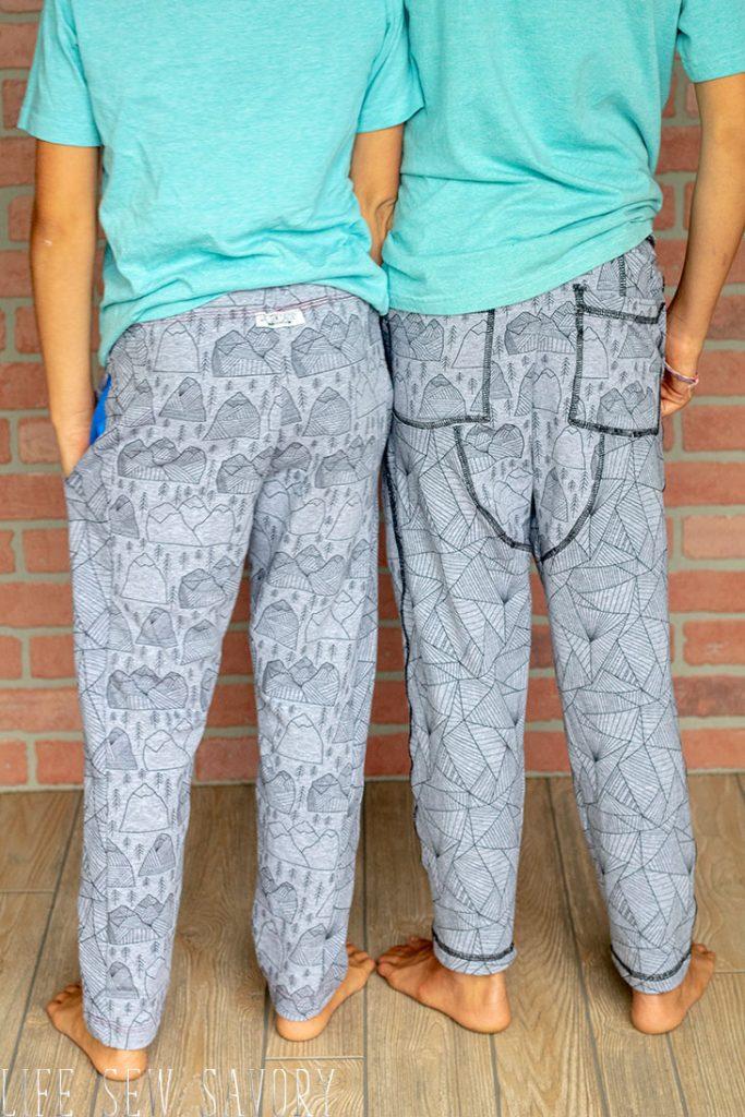 boys sweatpants slim fit joggers sewing pattern