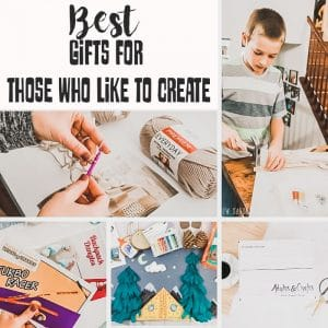 Gifts for Creative People - Kids and Adults