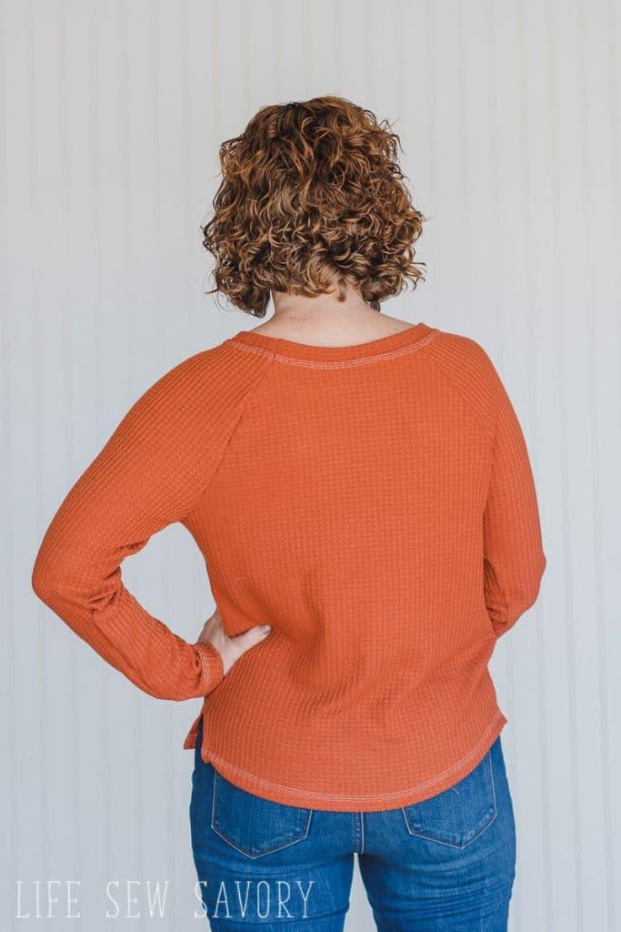 Sewing Patterns for Women raglan shirt