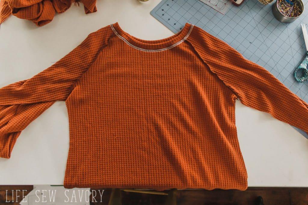 raglan top sewing pattern