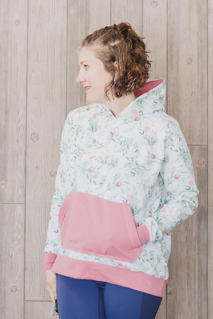 womens free sweatshirt sewing pattern from Life Sew Savory