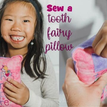 sew a tooth fairy pillow