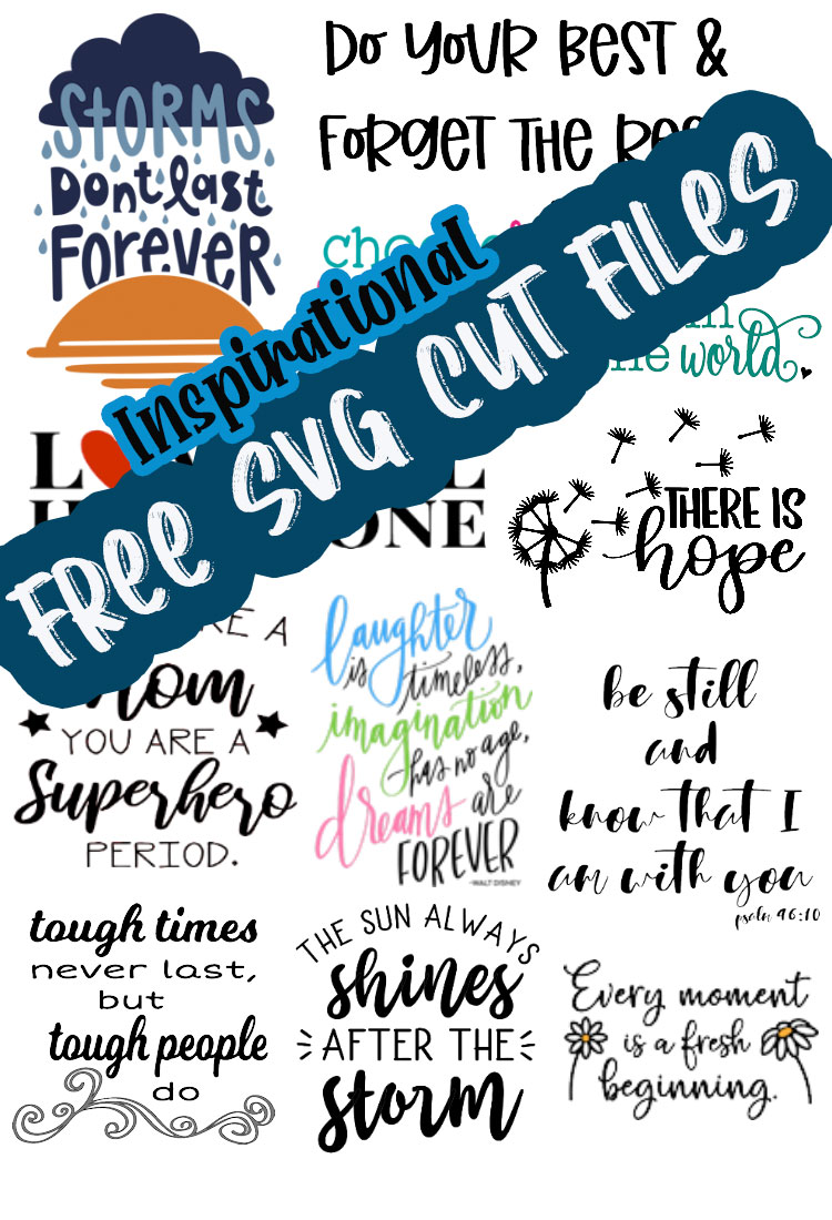 Download Positive Sayings Free SVG cut files - Life Sew Savory