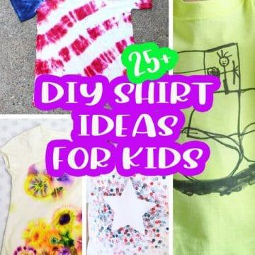 FUN DIY shirts ideas crafts for kids