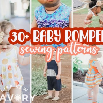 Best Baby Romper Sewing Patterns