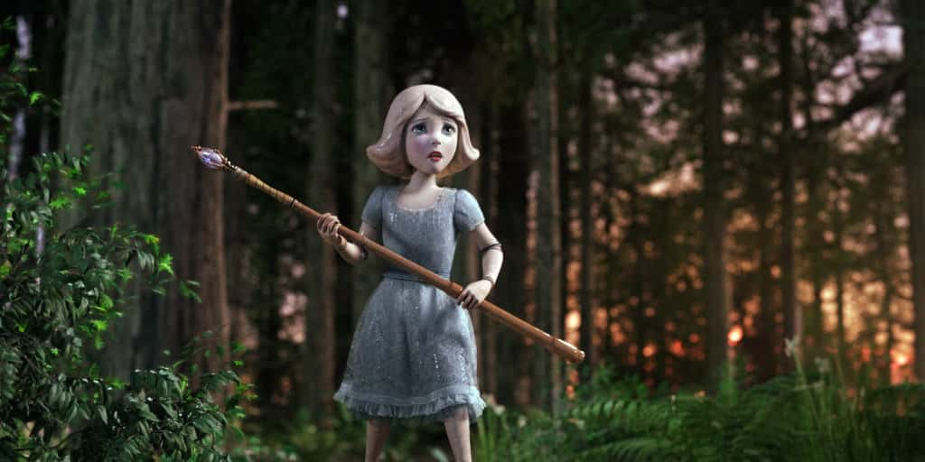 """""""OZ: THE GREAT AND POWERFUL"""" China Girl (voiced by Joey King) ©Disney Enterprises, Inc. All Rights Reserved."""