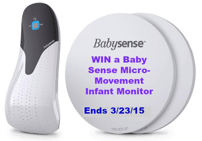 Sleep Well Knowing Your Baby Has the Babysense 5s Infant Movement Monitor + WIN ONE ($129 value)