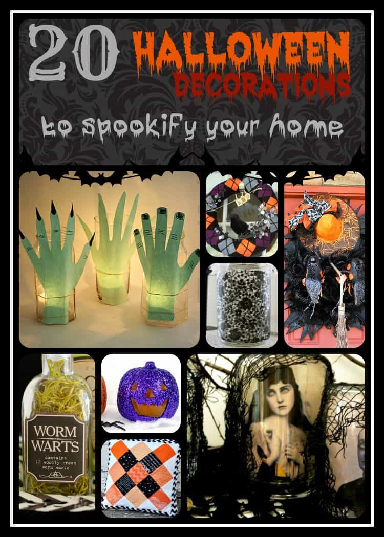 A - 20 Halloween Decorations Spookify - Words