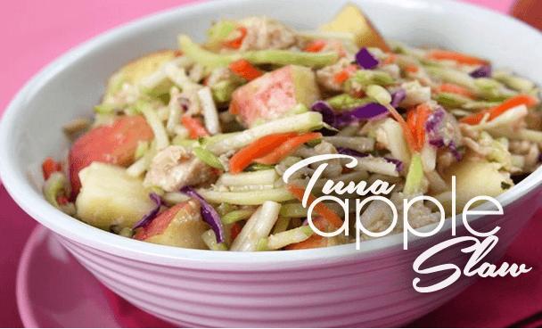 tuna-apple-slaw